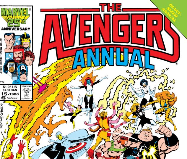 Avengers Annual (1967) #15