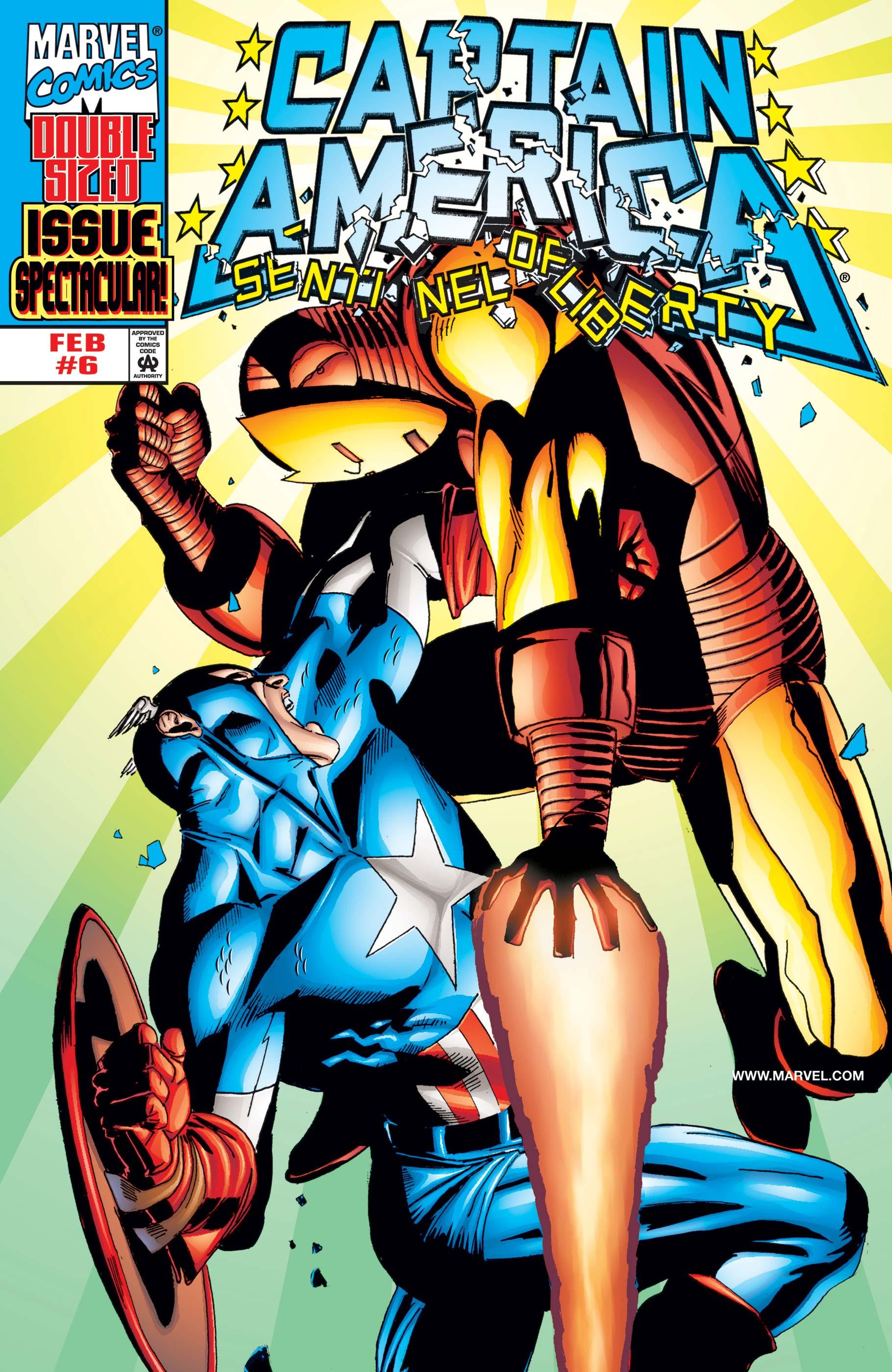 Captain America: Sentinel of Liberty (1998) #6