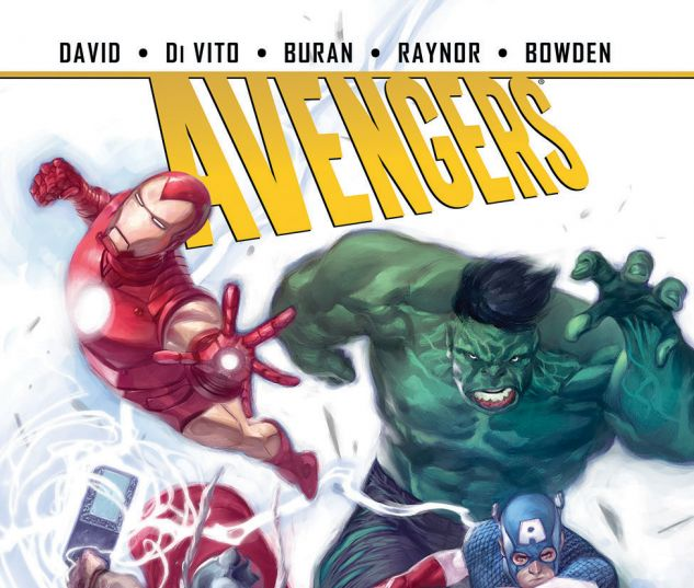 cover from Avengers: Season One (2015)