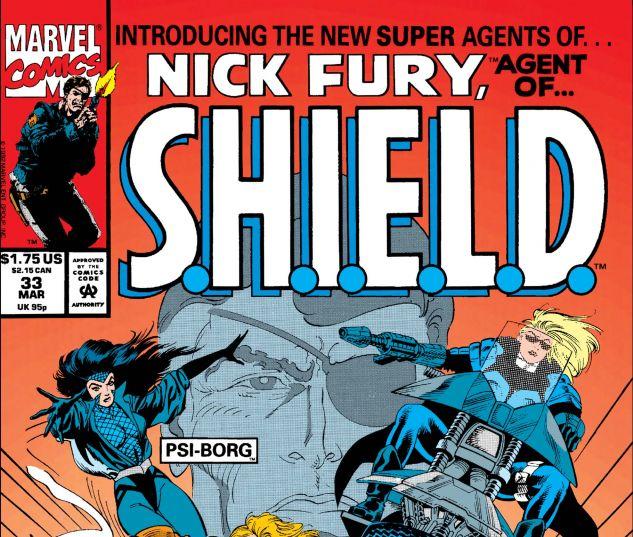 Nick Fury, Agent of Shield (1989) #33
