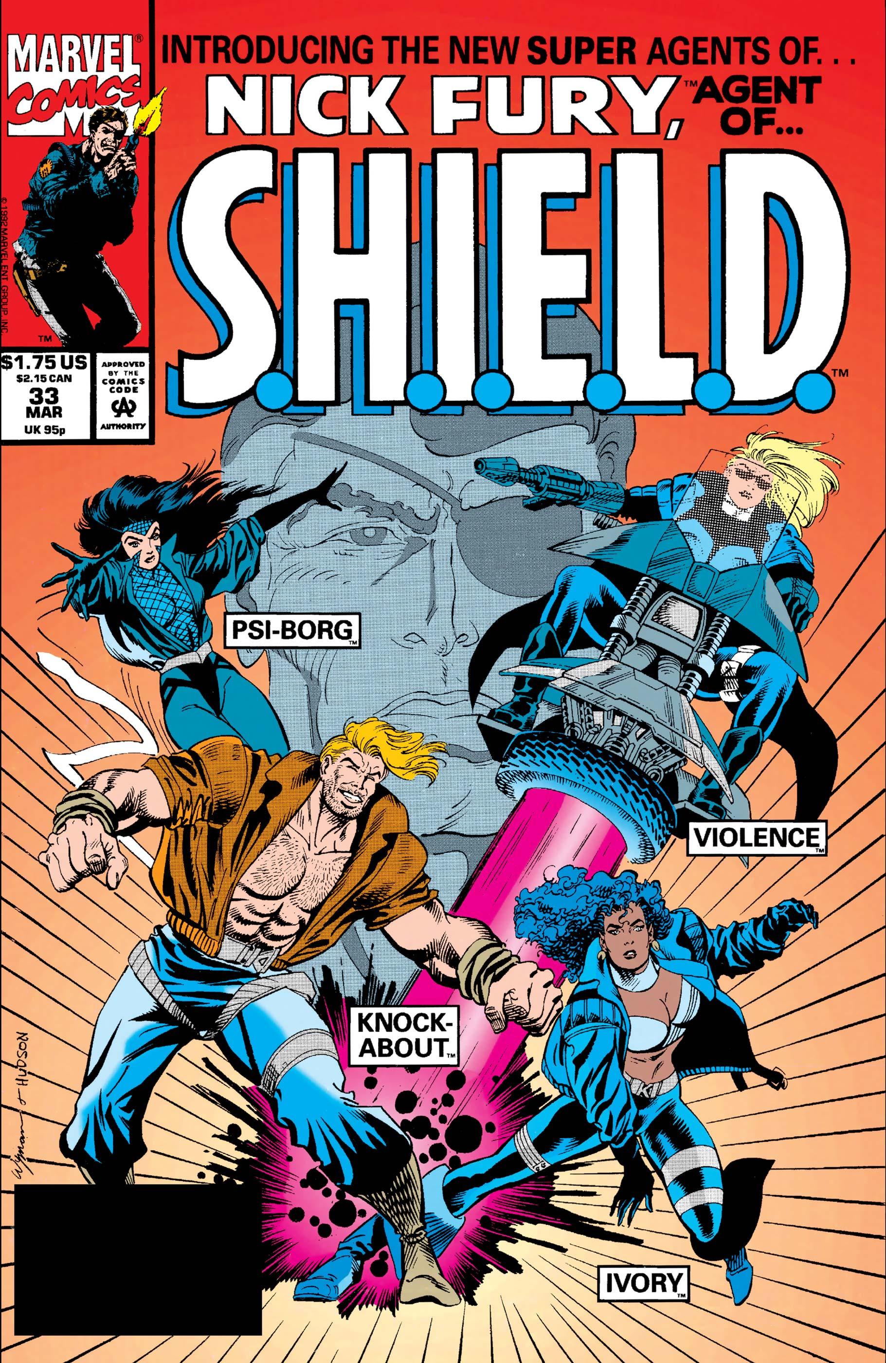Nick Fury, Agent of S.H.I.E.L.D. (1989) #33