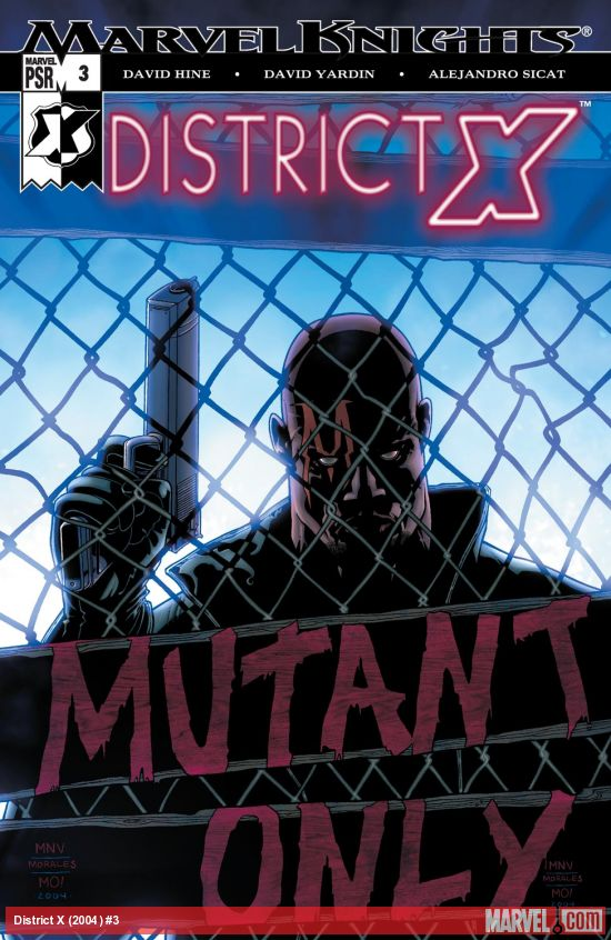 District X (2004) #3