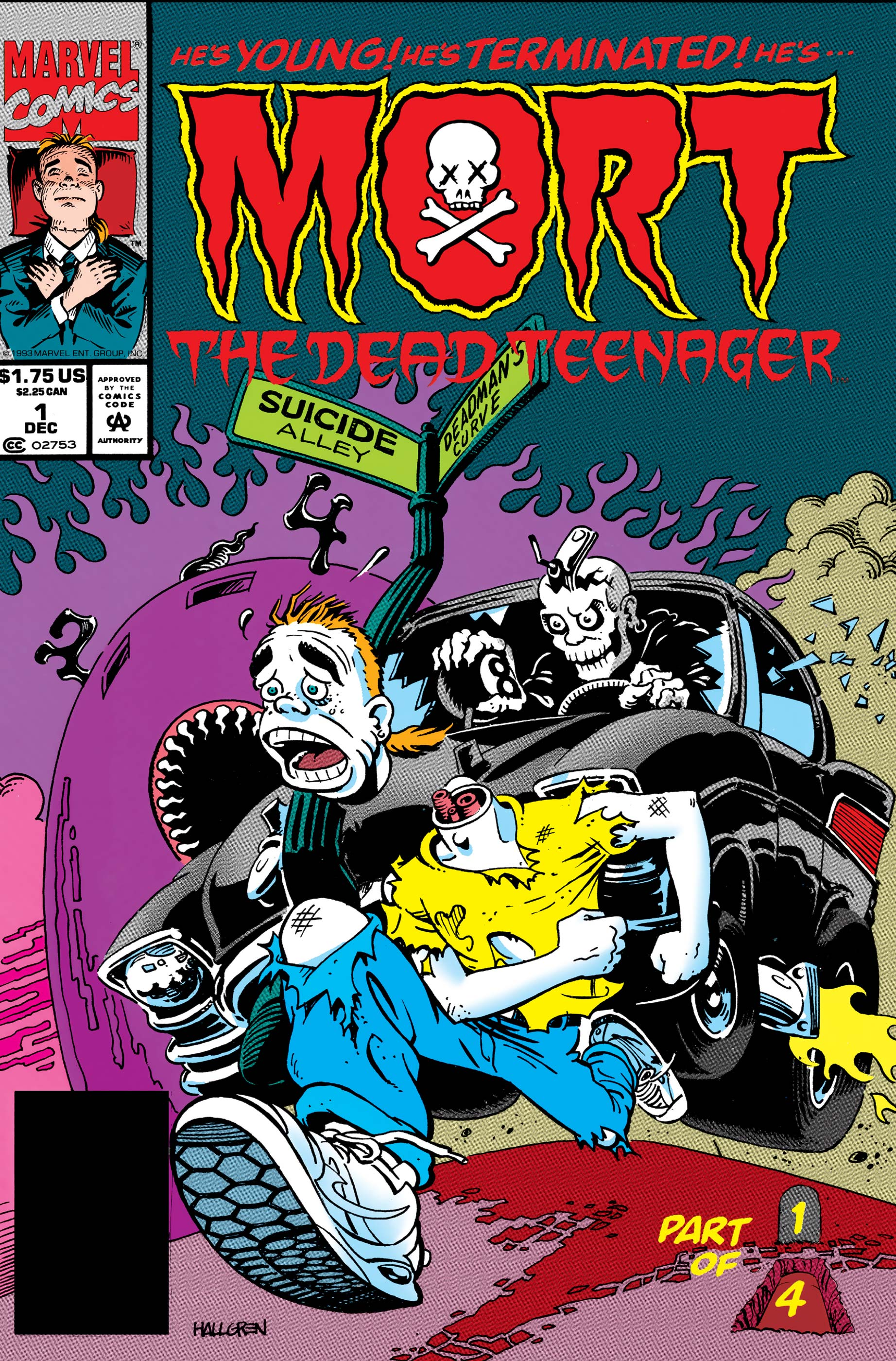 Mort The Dead Teenager (1993) #1