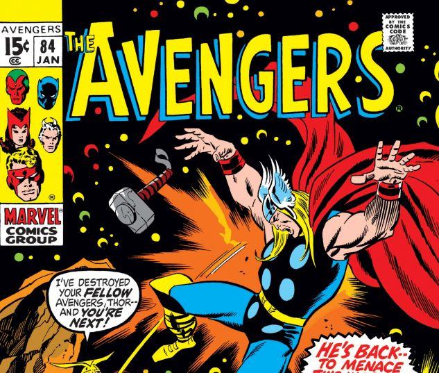 AVENGERS (1963) #84