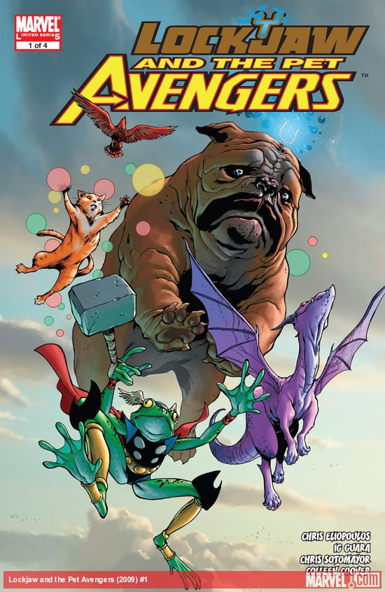 Lockjaw and the Pet Avengers (2009) #1