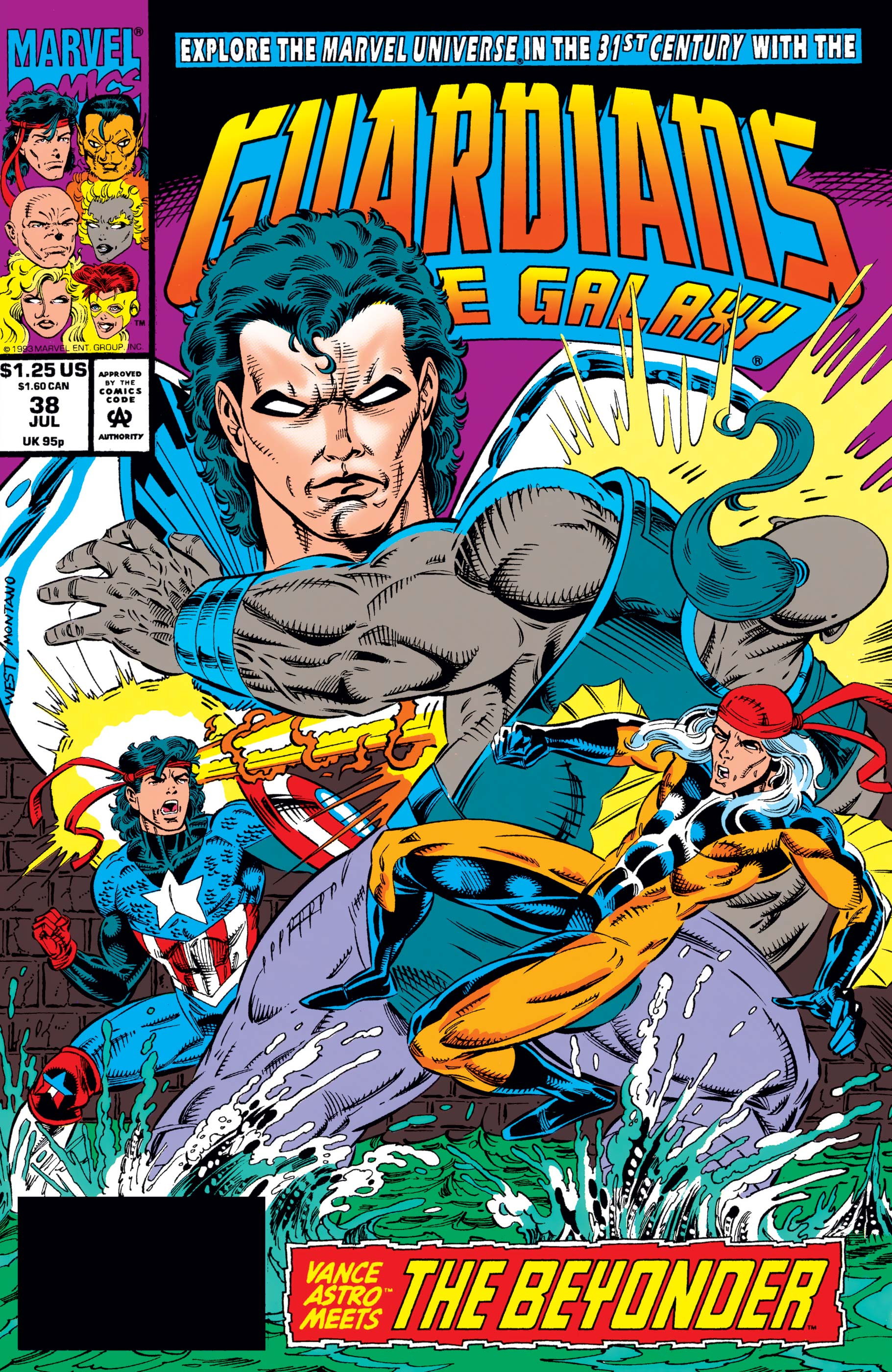 Guardians of the Galaxy (1990) #38