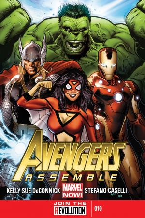 Avengers Assemble (2012) #10