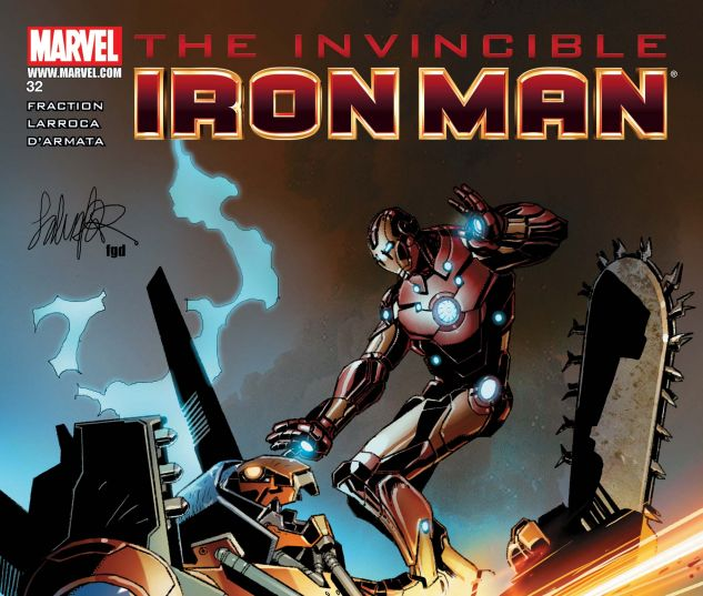 INVINCIBLE IRON MAN (2008) #32