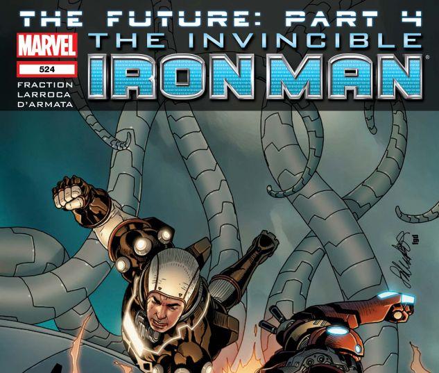 Invincible Iron Man (2008) #524