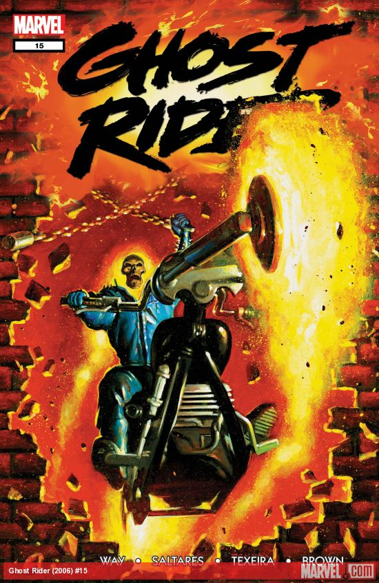 Ghost Rider (2006) #15