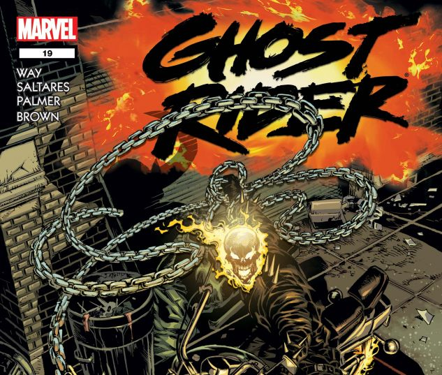 Ghost Rider (2006) #19