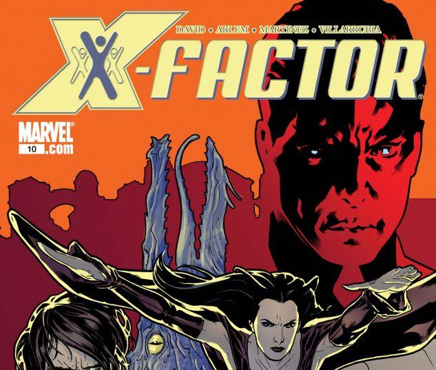 X-FACTOR (2005) #10