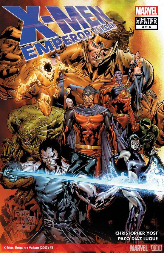 X-Men: Emperor Vulcan (2007) #3
