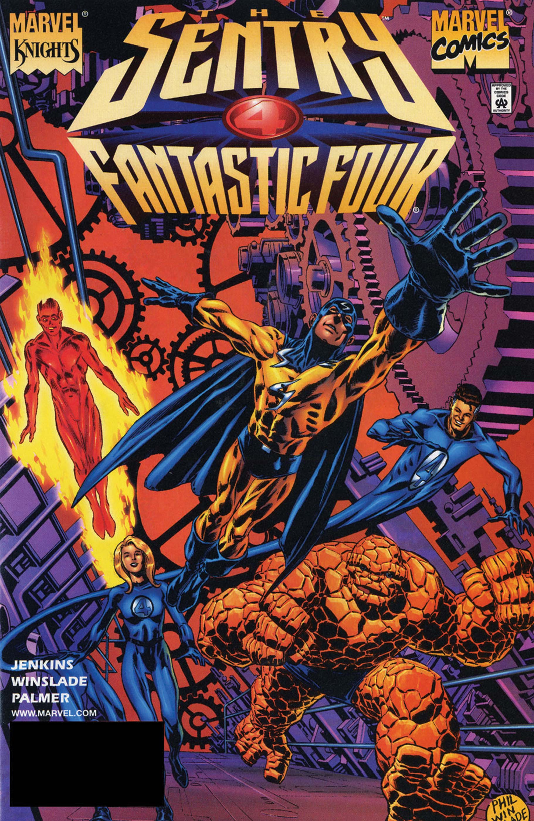 THE SENTRY/FANTASTIC FOUR 1 (2001) #1
