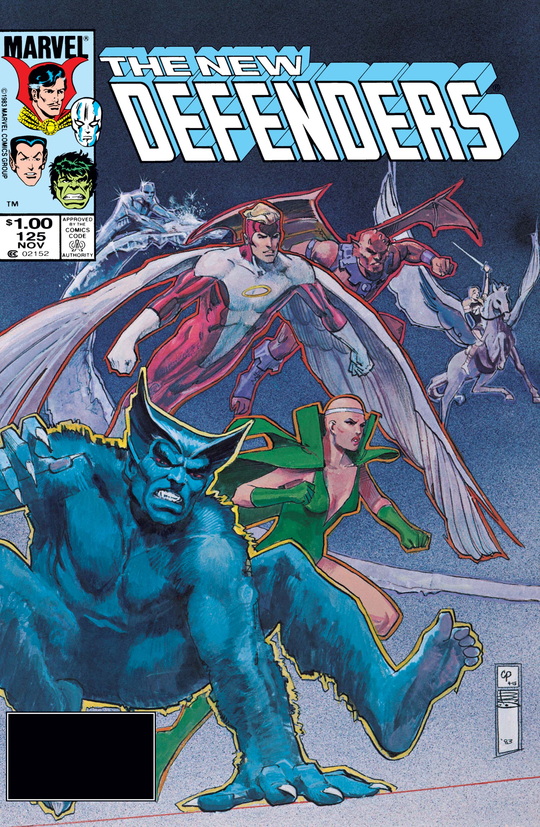 Defenders (1972) #125