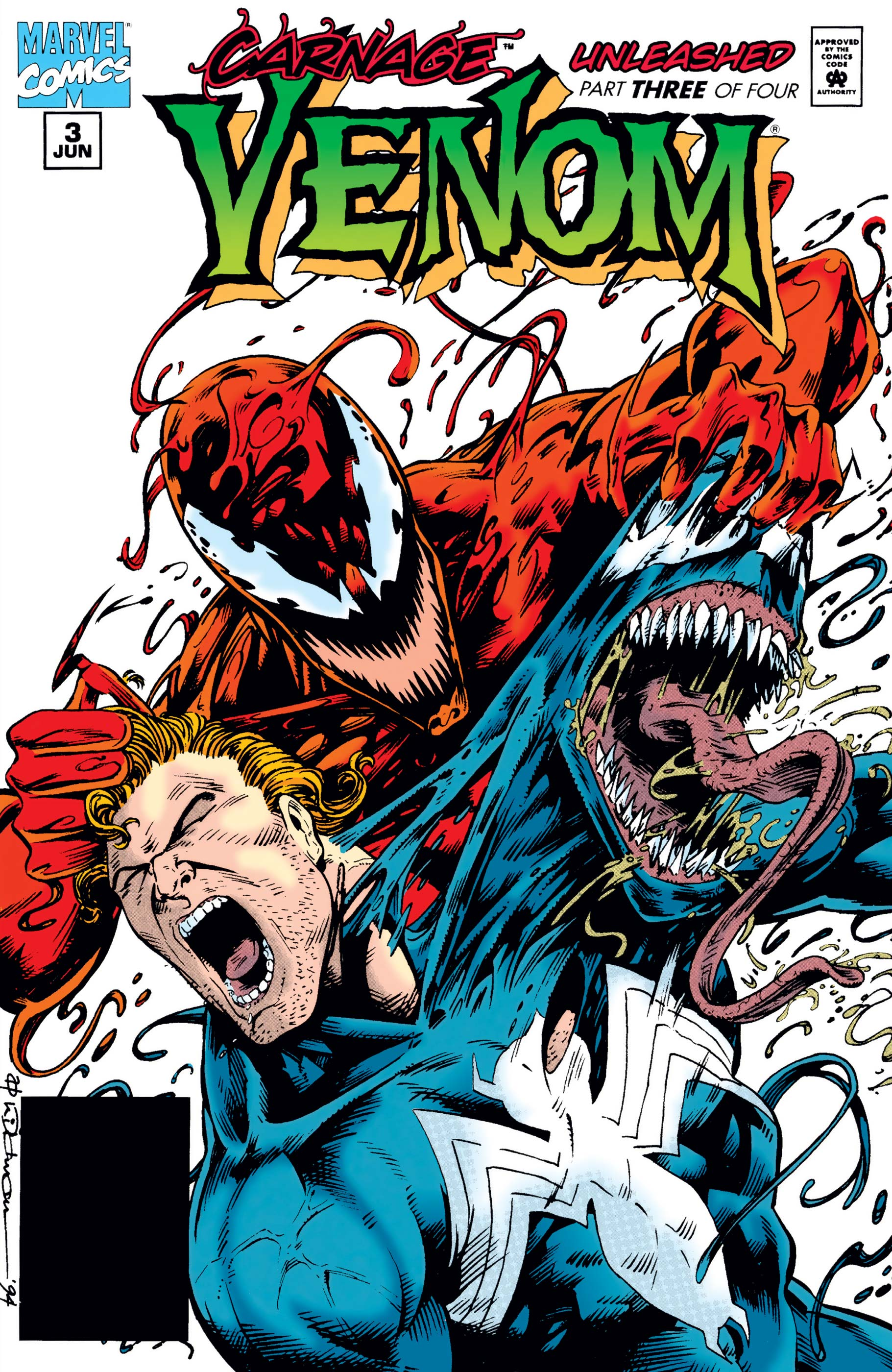 Venom: Carnage Unleashed (1995) #3