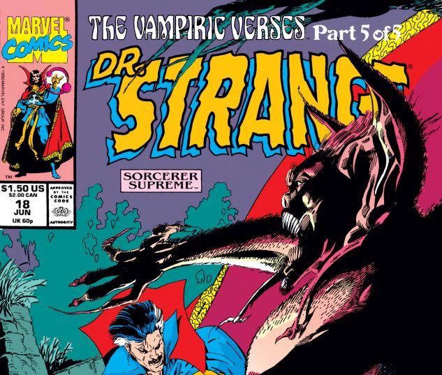 Cover for DOCTOR STRANGE, SORCERER SUPREME 18