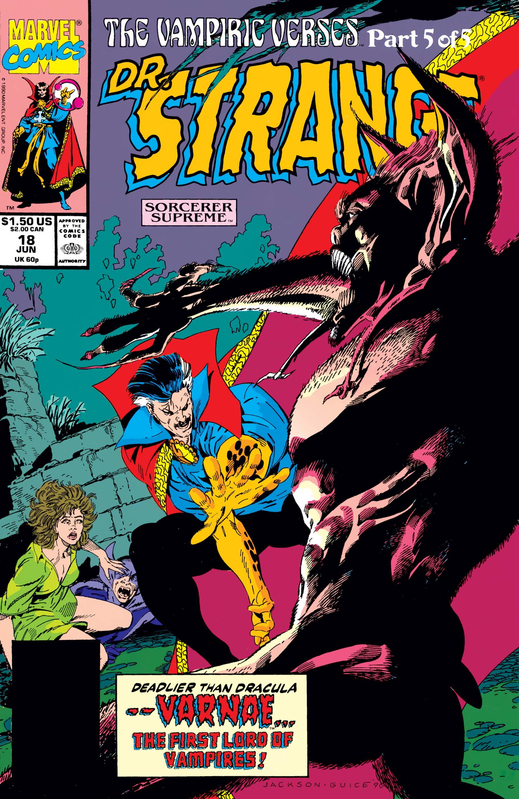 Doctor Strange, Sorcerer Supreme (1988) #18