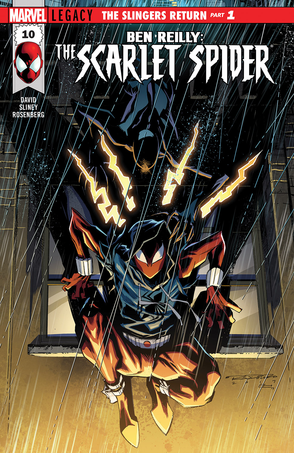 Ben Reilly: Scarlet Spider (2017) #10