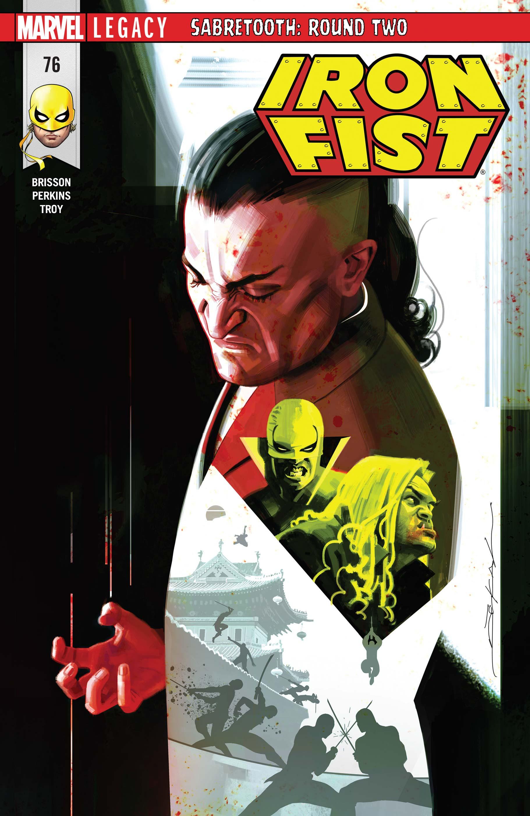 Iron Fist (2017) #76