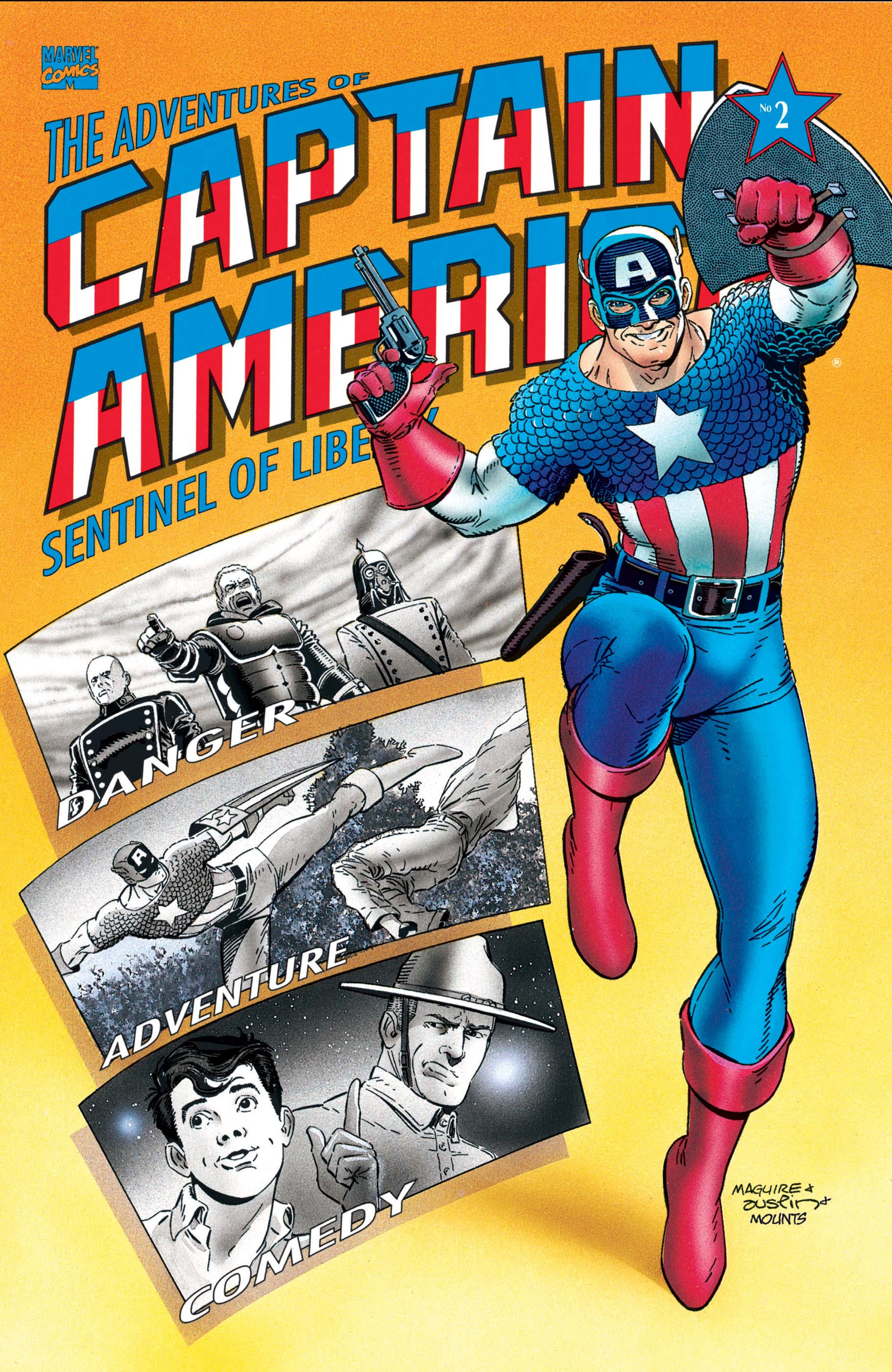 Adventures of Captain America (1991) #2