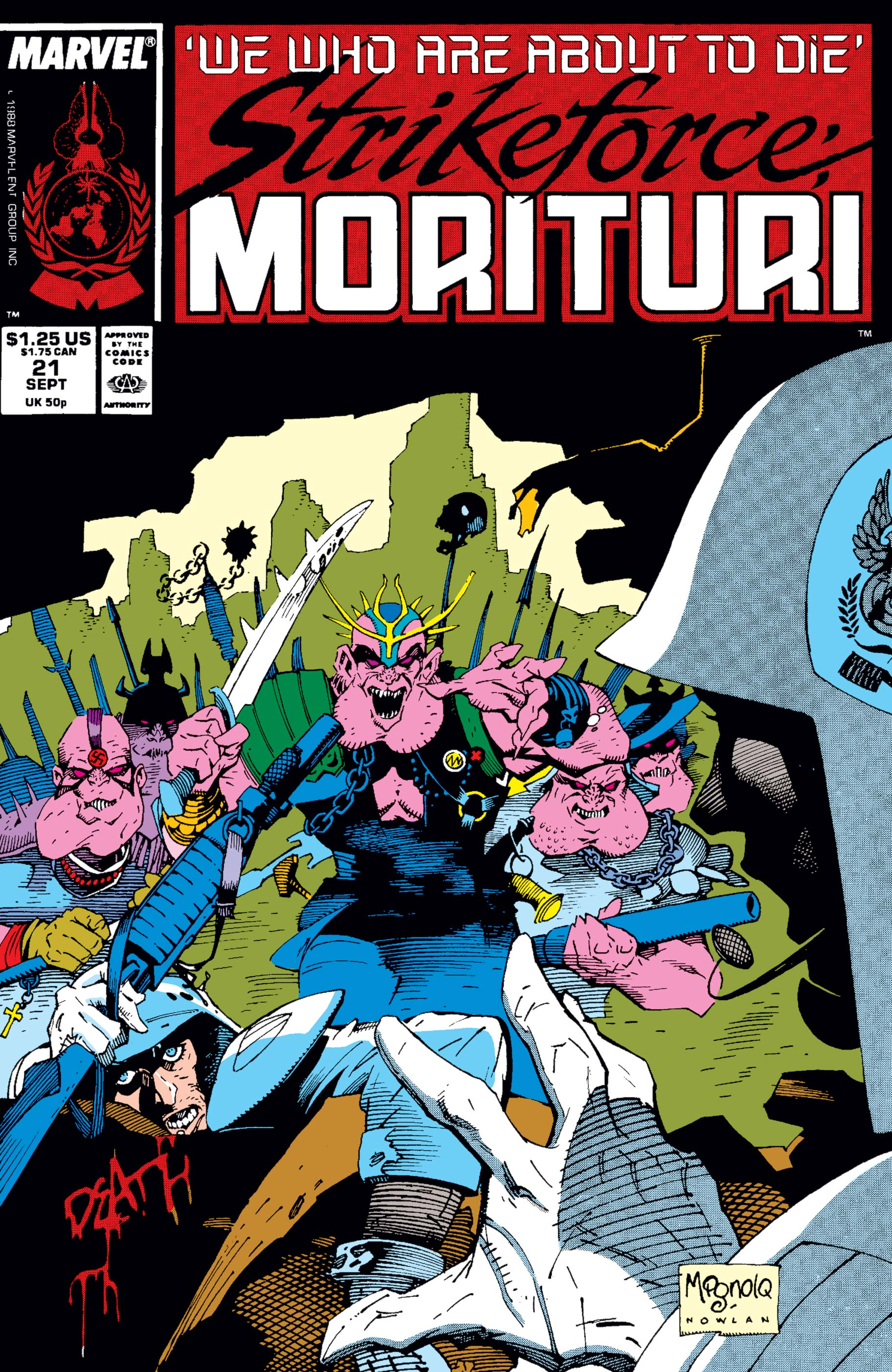 Strikeforce: Morituri (1986) #21