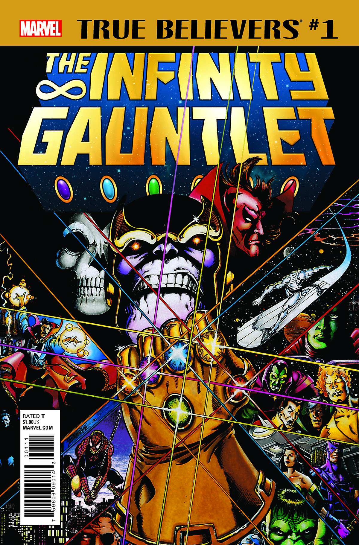 True Believers: Infinity Gauntlet (2018) #1