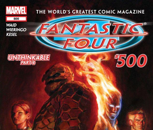 Fantastic Four (1998) #500