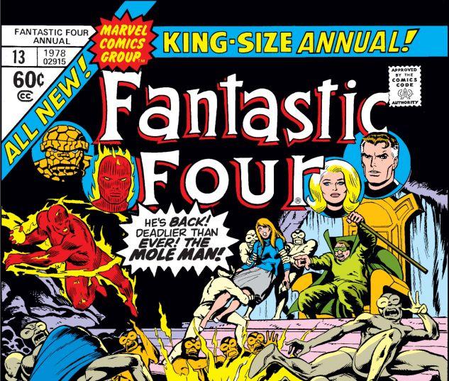 FANTASTIC FOUR ANNUAL (1963) #13