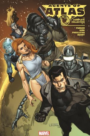 Agents of Atlas: The Complete Collection Vol. 1 (Trade Paperback)