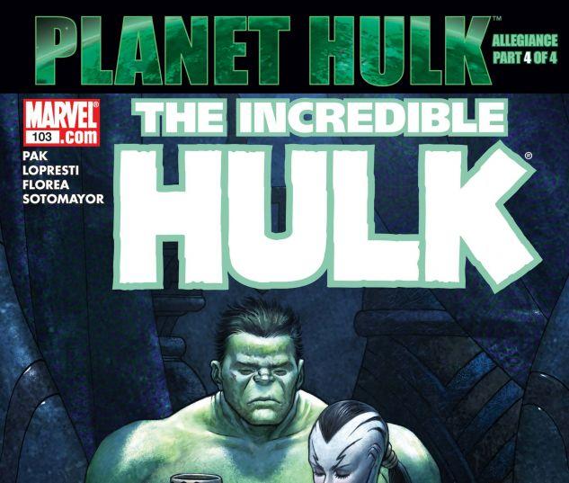 INCREDIBLE HULK (1999) #103