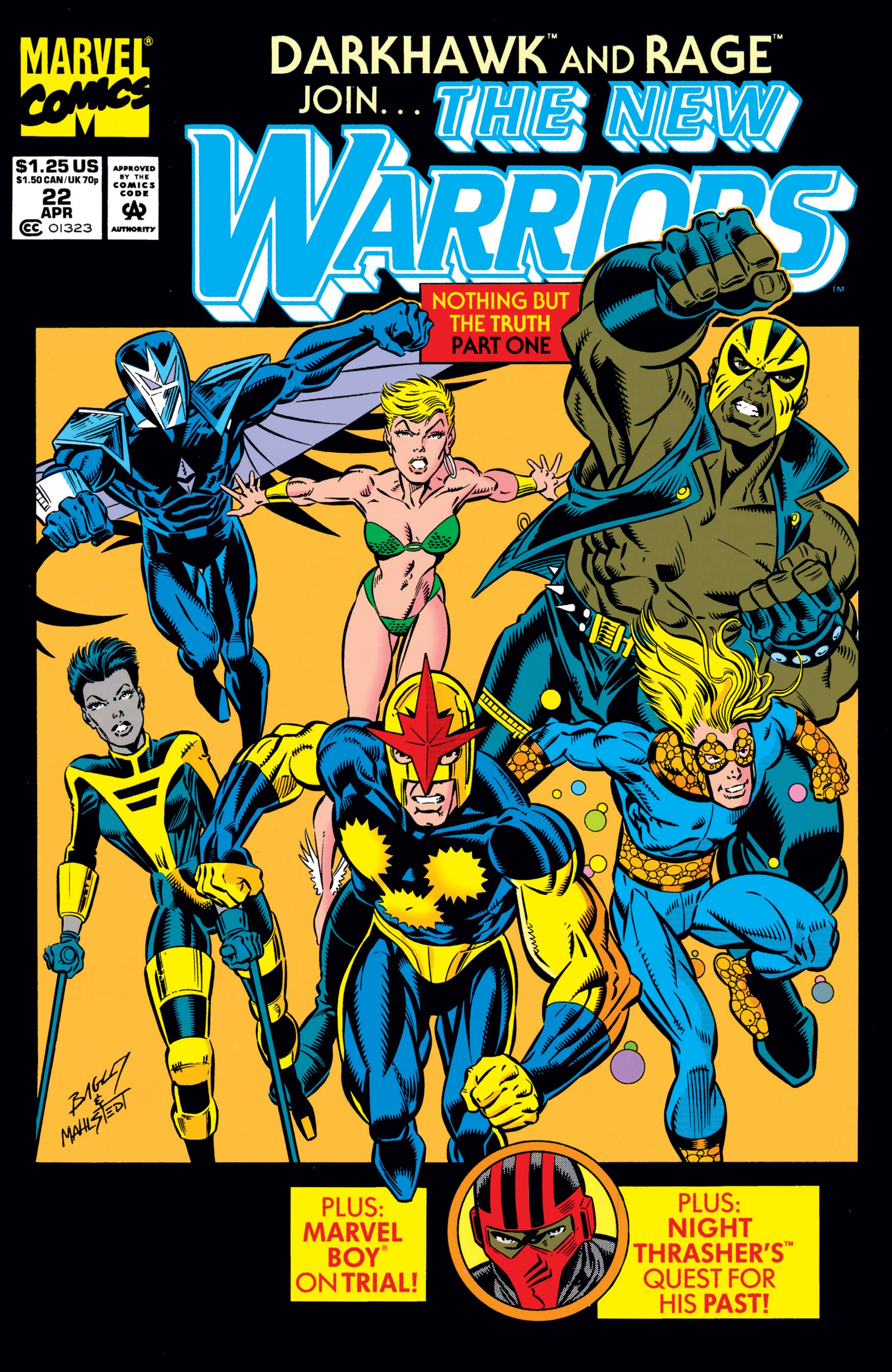 New Warriors (1990) #22