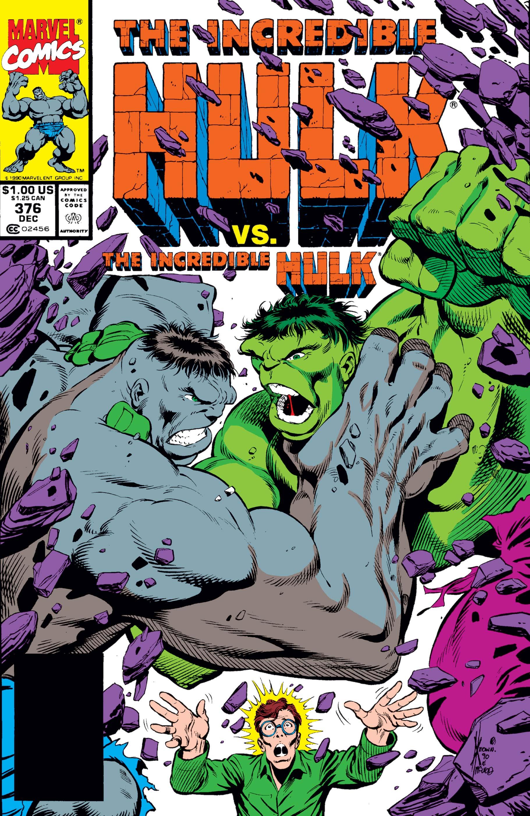 Incredible Hulk (1962) #376
