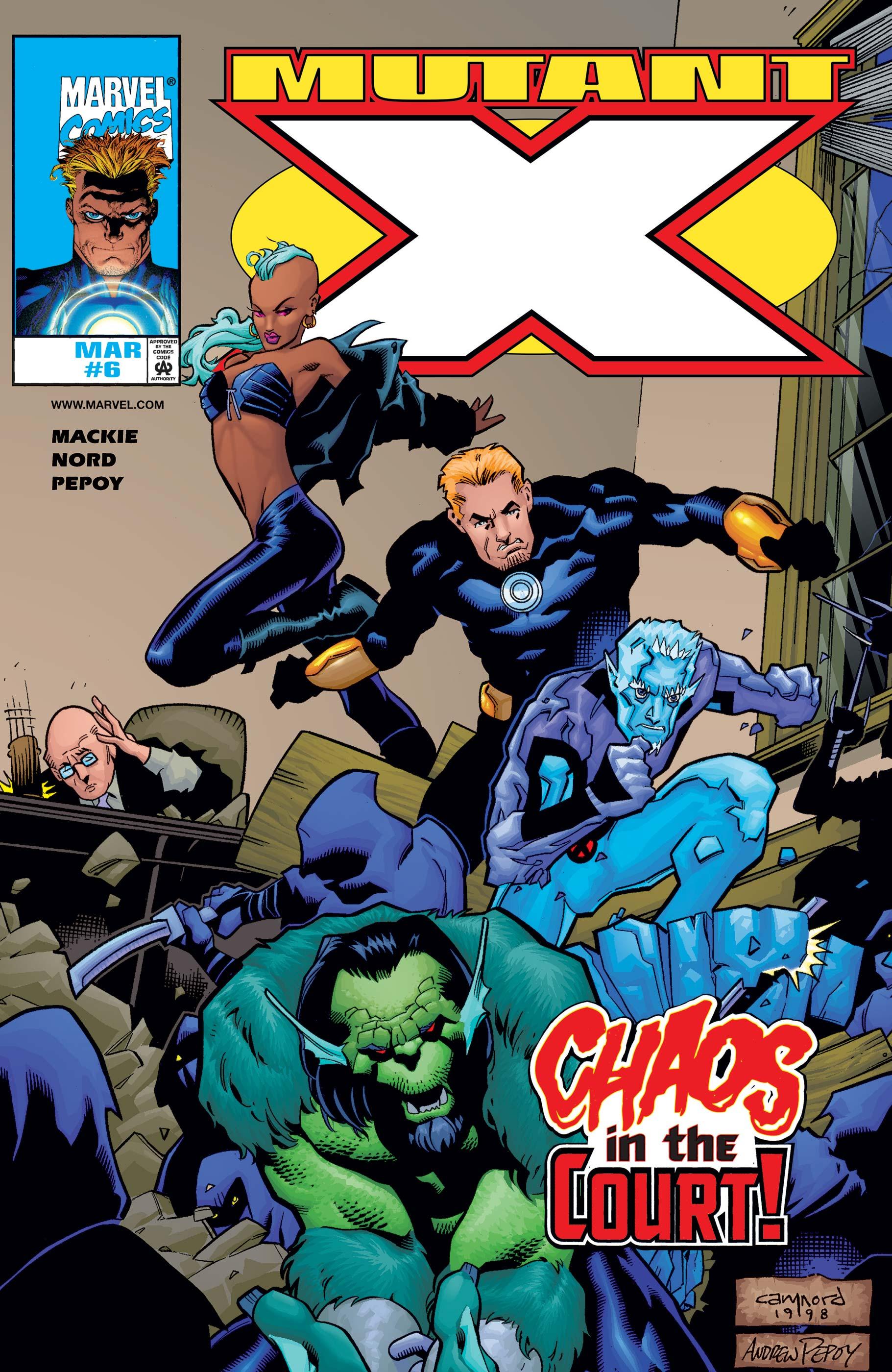 Mutant X (1998) #6