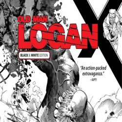Wolverine: Old Man Logan Vol. 6 - Days of Anger Black and White (2018)