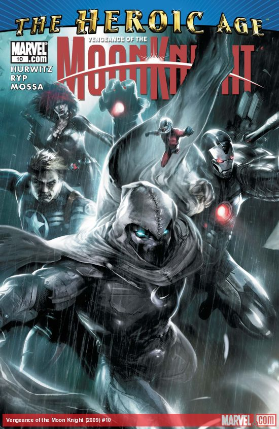 Vengeance of the Moon Knight (2009) #10