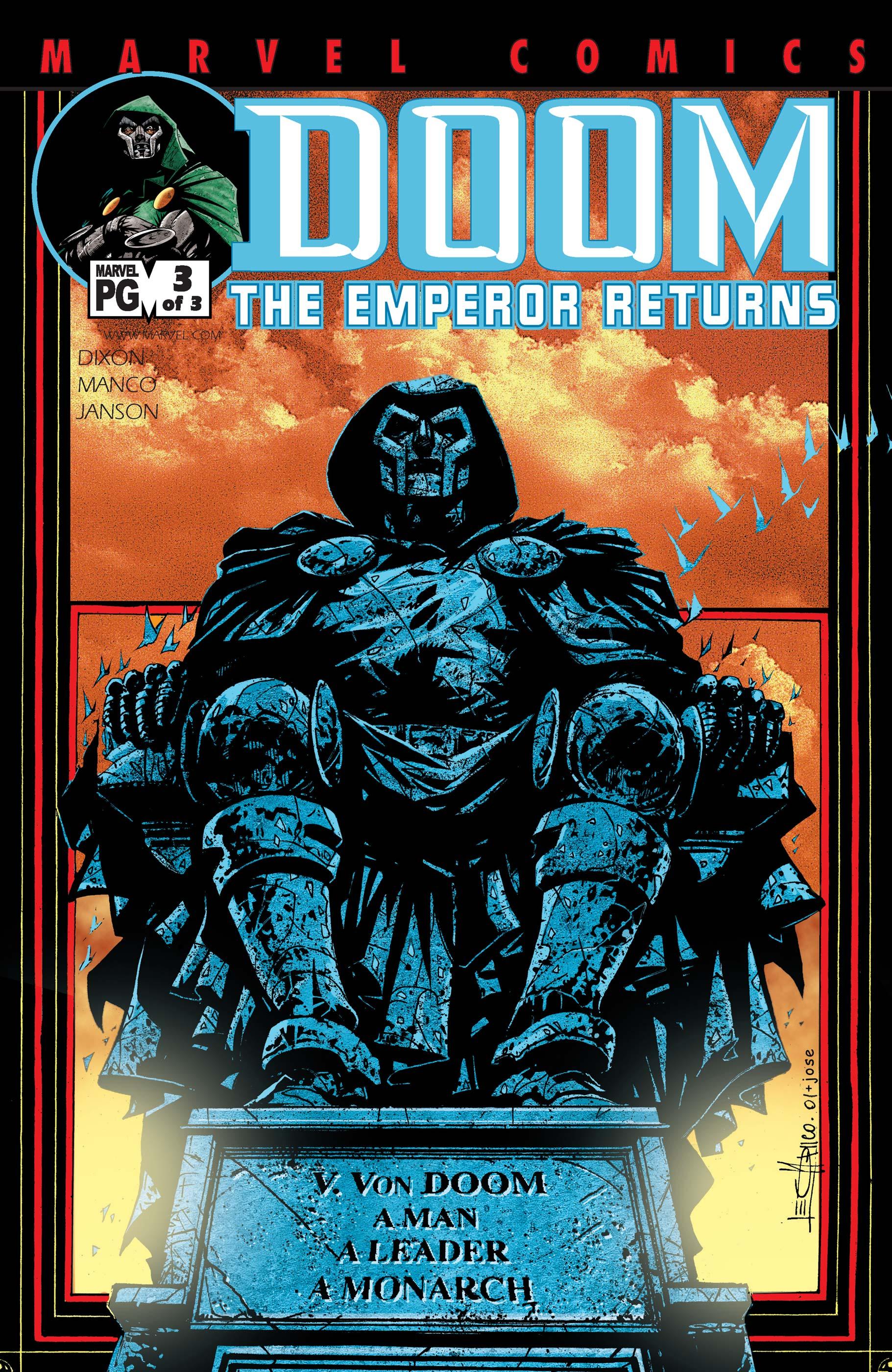 Doom: The Emperor Returns (2002) #3