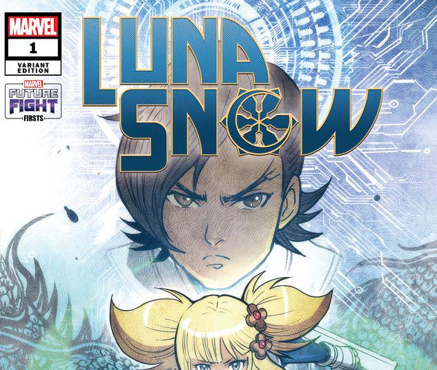 FUTURE FIGHT FIRSTS: LUNA SNOW 1 TAKEDA MARVEL'S FUTURE AVENGERS VARIANT #1