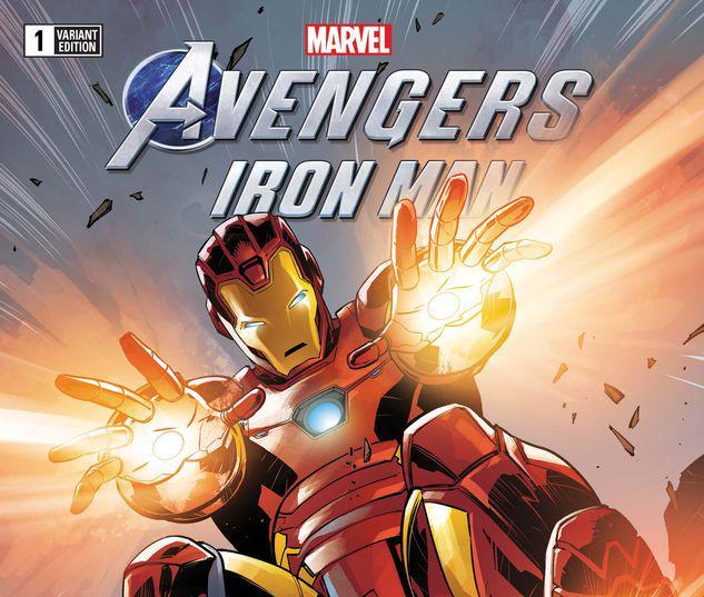 MARVEL'S AVENGERS: IRON MAN 1 BENJAMIN VARIANT #1