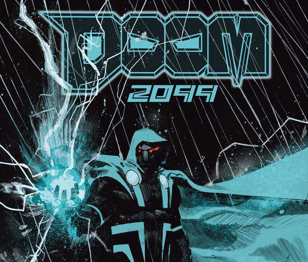 DOOM 2099 1 ZAFFINO VARIANT #1