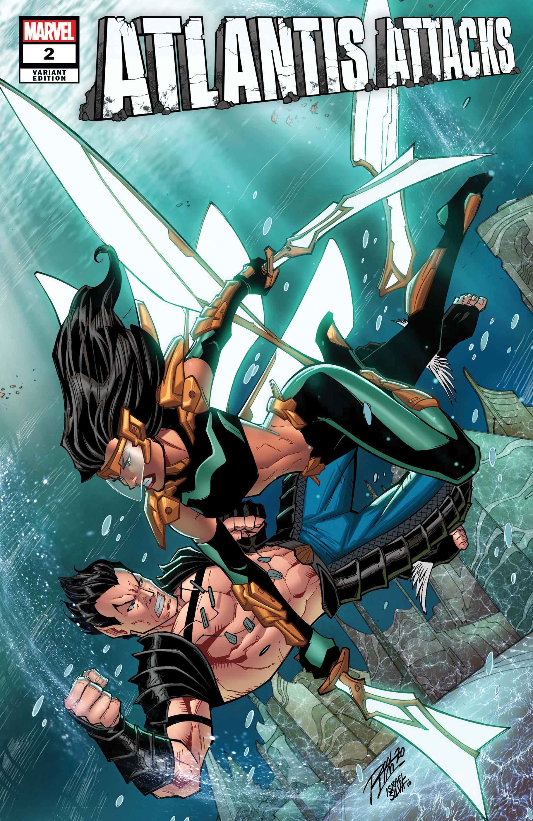 Atlantis Attacks (2020) #2 (Variant)