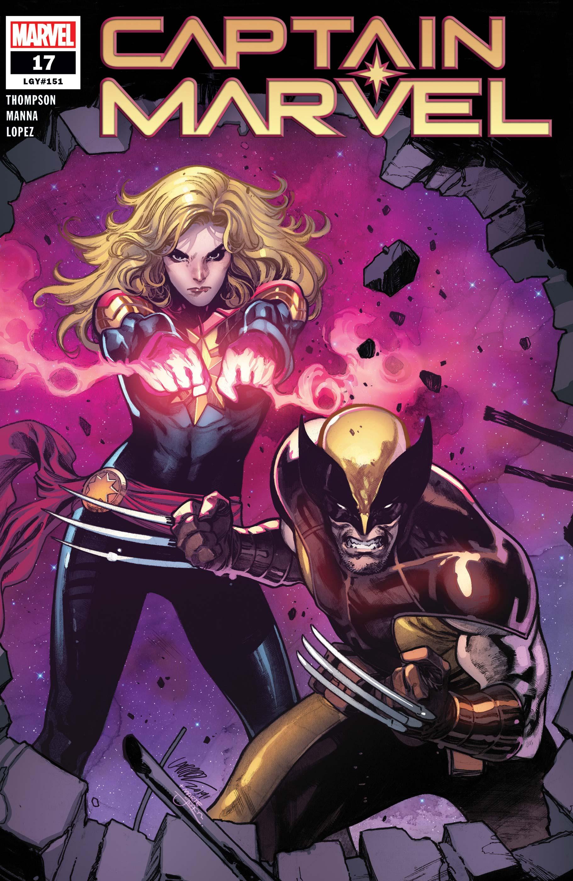 Captain Marvel (2019) #17