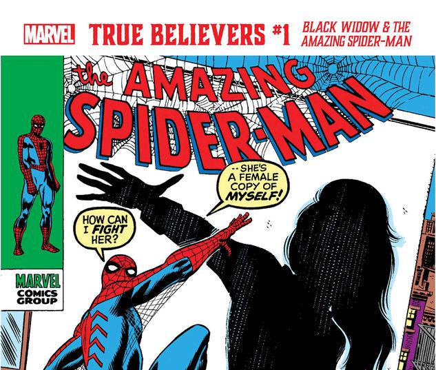 TRUE BELIEVERS: BLACK WIDOW & THE AMAZING SPIDER-MAN 1 #1
