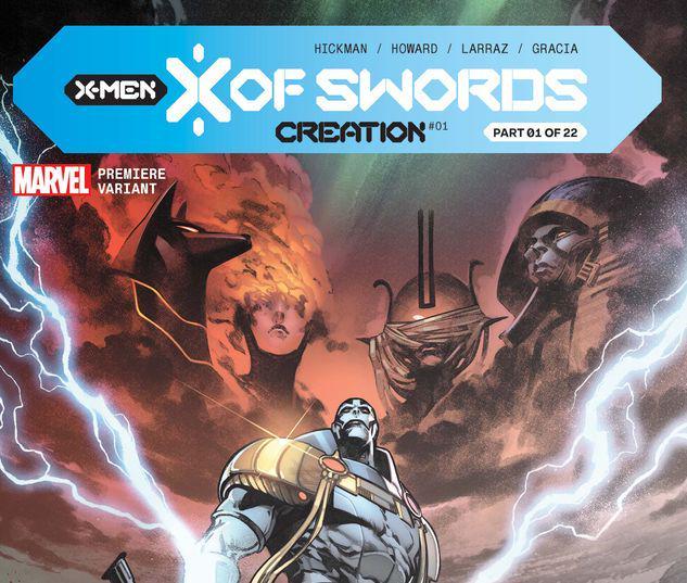 X OF SWORDS: CREATION 1 LARRAZ PREMIERE VARIANT #1