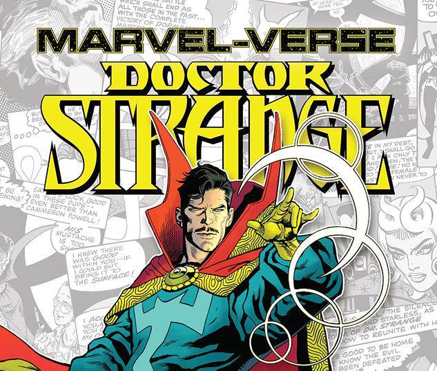 MARVEL-VERSE: DOCTOR STRANGE GN-TPB #1