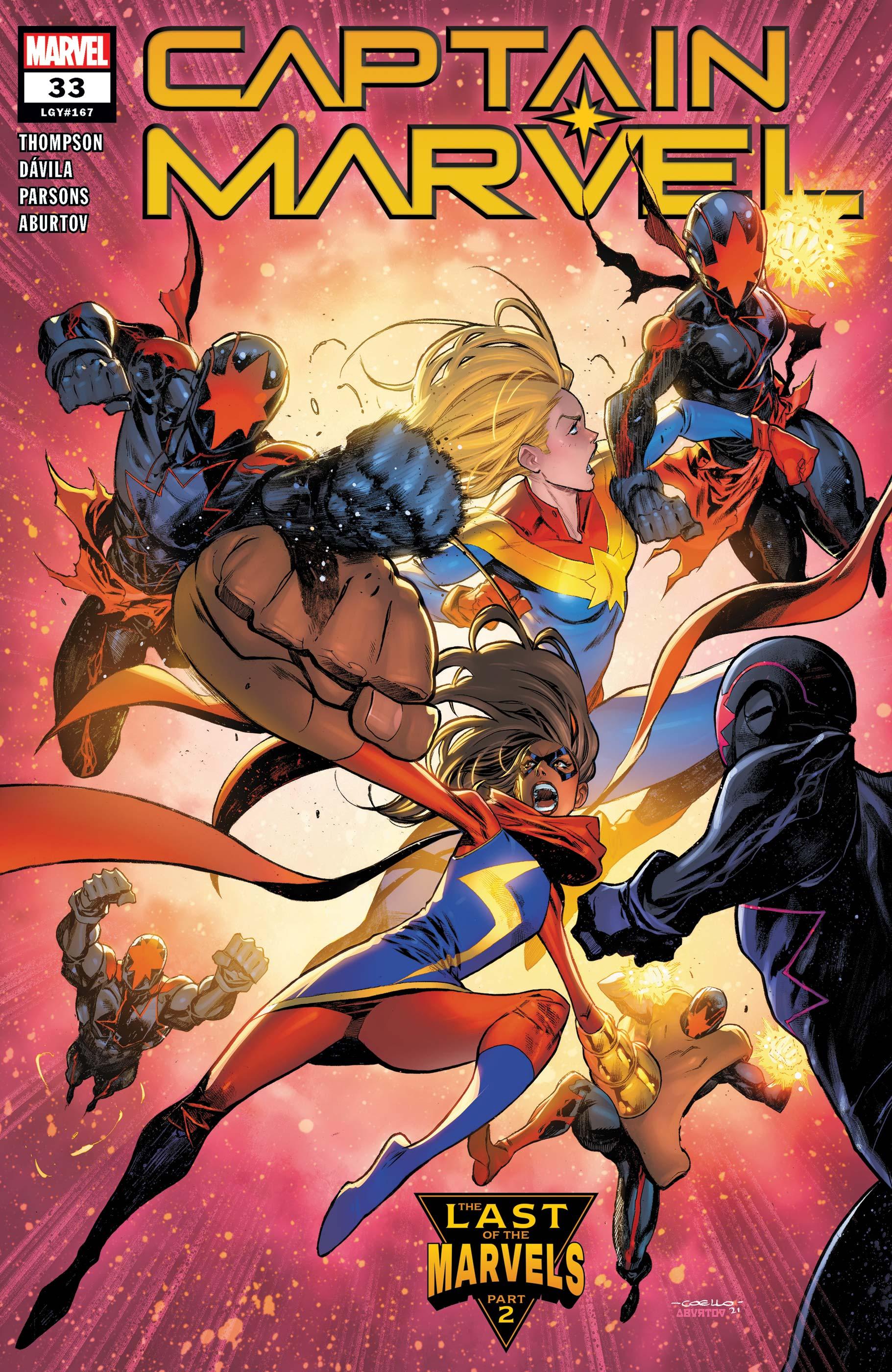 Captain Marvel (2019) #33