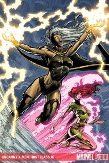 Uncanny X-Men: First Class (2009) #6