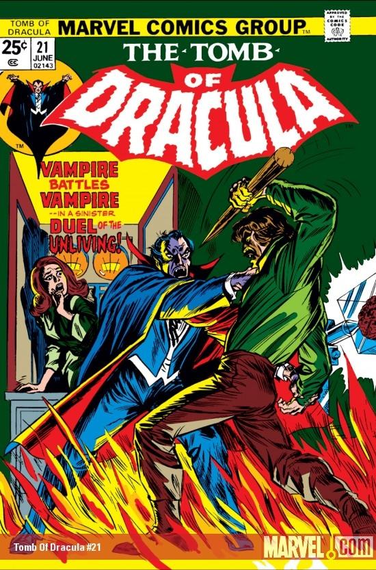 Tomb of Dracula (1972) #21