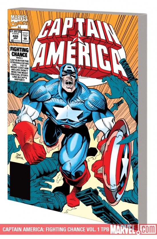 Captain America: Fighting Chance Vol. 1 (Trade Paperback)