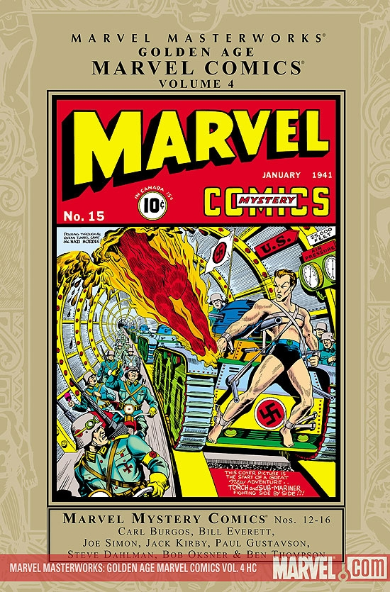 MARVEL MASTERWORKS: GOLDEN AGE MARVEL COMICS VOL. 4 HC (Hardcover)